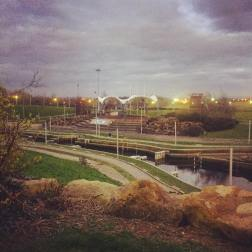 The Tees Barrage in Stockton